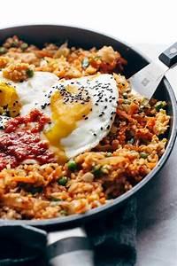 Kimchi Fried Rice Recipe - Pinch of Yum  Fried