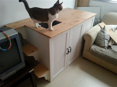cat litter solution deluxe version ikea hack