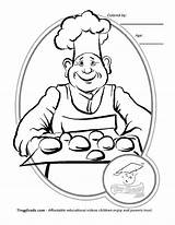 Coloring Baker Job Muffin Printable Know Jobs Template Getcolorings Coloringhome sketch template