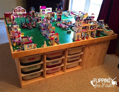 diy lego table   flipping  projects lego