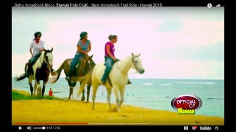 hawaii horseback ride trail oahu rides polo