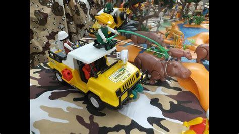 playmobil safari diorama wild life youtube