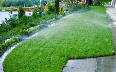 Automatische Bewässerung Im Privatgarten Wwwdergartenbauch