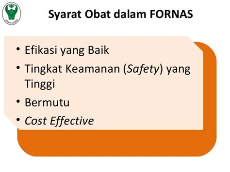 implementasi formularium nasional dalam pelaksanaan