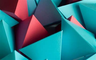 4k 3d Abstract Wallpapers Triangle Cube Backgrounds