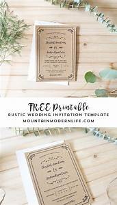 free printable wedding invitation template With wedding invitations to download and print