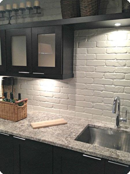 Kitchen Paneling Backsplash by 25 Best Ideas About Faux Brick Wall Panels On