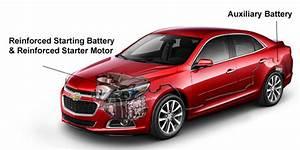 2015 Chevrolet Malibu Auxiliary Power Supply – Boron