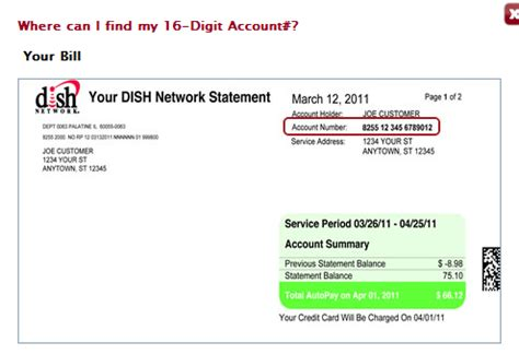 what s the phone number for dish network www dishnetwork myaccount dish network account