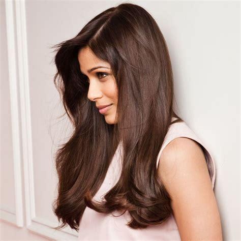 coloration marron sur cheveux chatain fonce coiffures 224