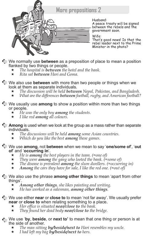 grade  grammar lesson   prepositions  grammar