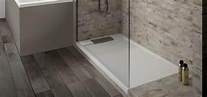 Bac De Douche À L Italienne : receveur rectangulaire serio rectangle aquarine ~ Farleysfitness.com Idées de Décoration