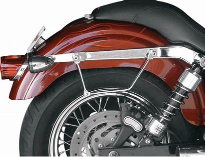 Saddlebags Quick Harley Release Softail Saddlemen Leather