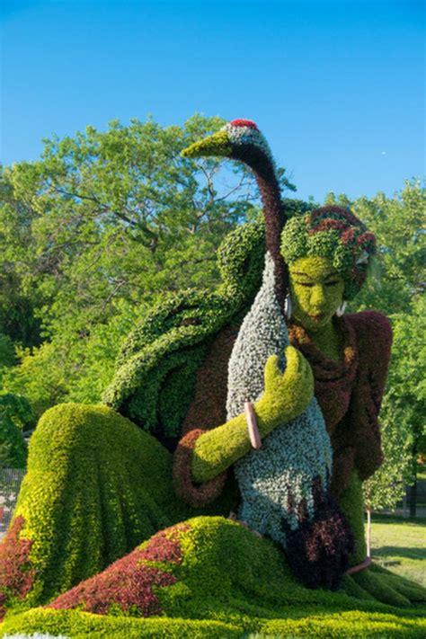 Skulpturen Im Garten by Genie 223 En Sie Die Lebenden Skulpturen Im Botanischen Garten