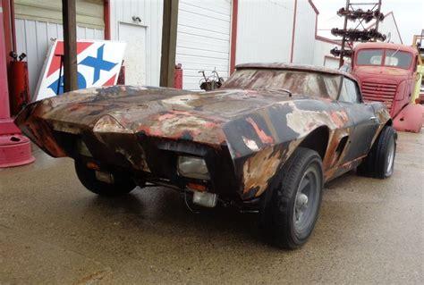 corvette custom drag car