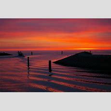 Kostenlose Bild Sonnenuntergang, Dämmerung, Strand