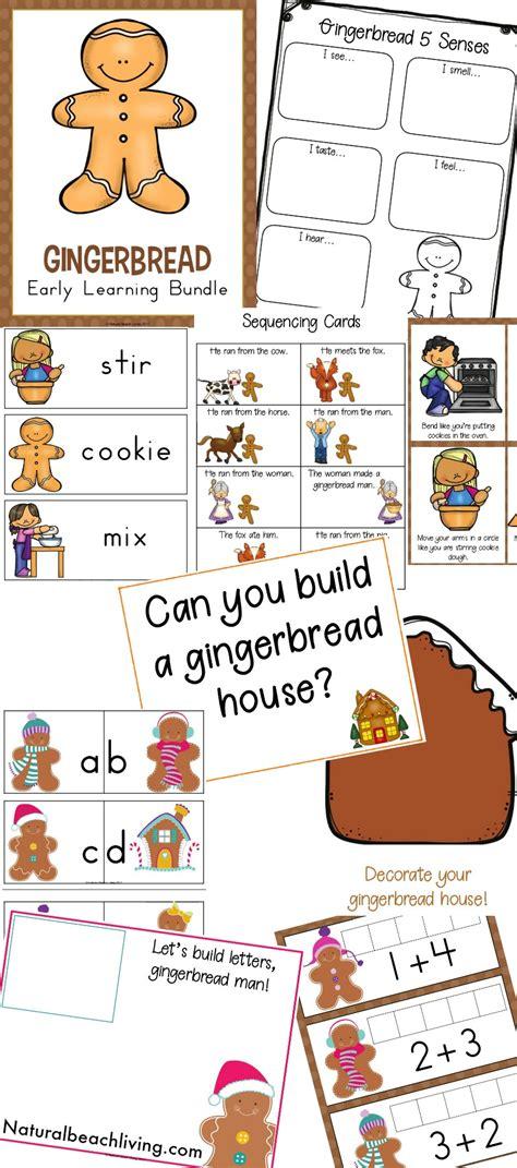 gingerbread kindergarten and preschool theme lesson plan 453 | Preschool Gingerbread Theme pin