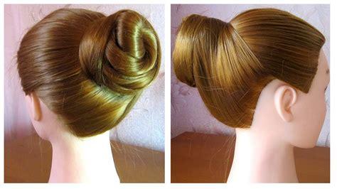 tuto chignon simple et rapide chignon 233 l 233 gant coiffure facile a faire soi meme