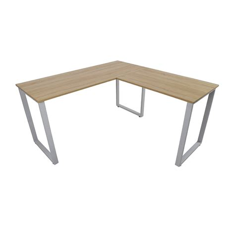 l shaped table desk 60 off merax merax l shaped computer desk tables