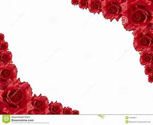 Red rose frame stock image. Image of mothers, bridal ...