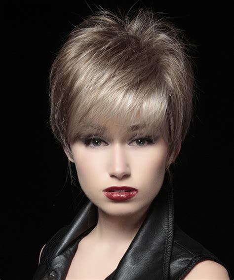 Pixie Formal Hairstyles by Formal Layered Pixie Hairstyle Light Ash