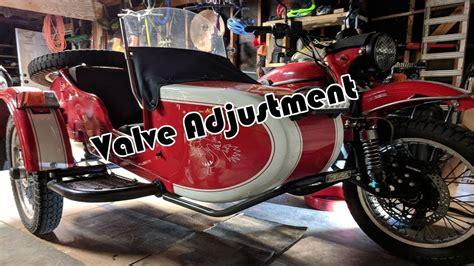 Ural Valve Adjustment