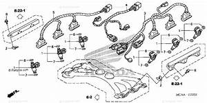 Honda Motorcycle 2008 Oem Parts Diagram For Injector