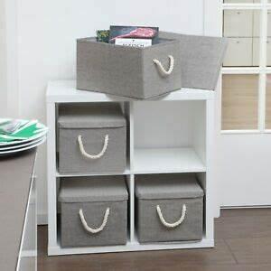 Stoffbox Mit Deckel : aufbewahrungsbox mit deckel aus stoff 2er set ~ A.2002-acura-tl-radio.info Haus und Dekorationen