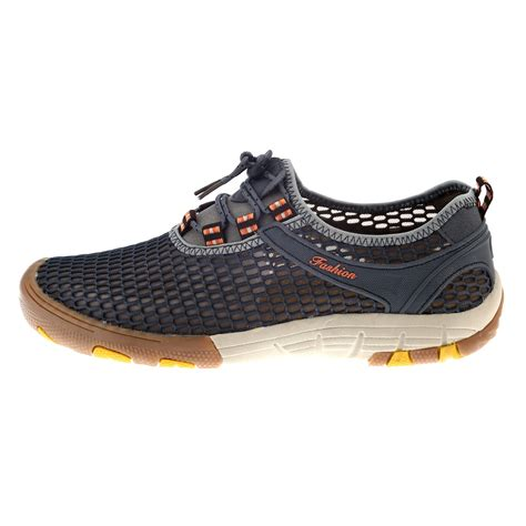 Mens Outdoor Sport Mesh Breathable Casual Shoes Hiking