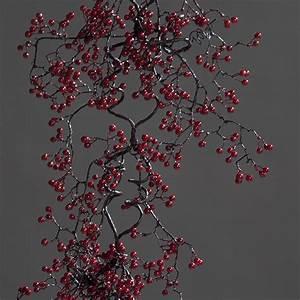 Deko Zweige Rote Beeren : beerengirlande girlande rote beeren zweig beerenzweig kunstpflanze 150 cm ebay ~ Sanjose-hotels-ca.com Haus und Dekorationen