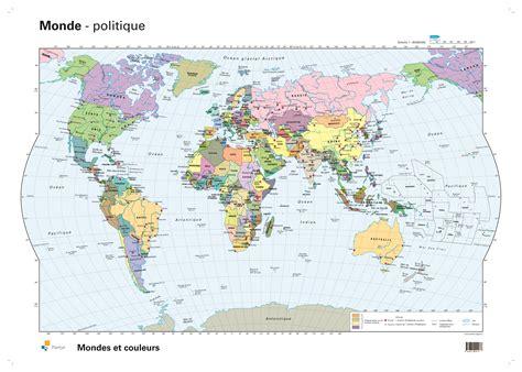 Carte Politique Du Monde à Imprimer by Carte Monde A Colorier Home Design Architecture