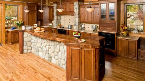 80 Rustic Kitchen Wood Design Ideas 2017
