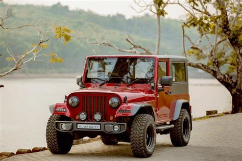 mahindra jeep thar this is the cleanest thar to wrangler mod job we ve seen