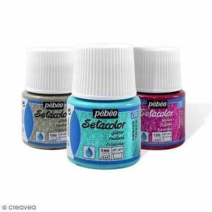 Peinture Pour Tissu Canapé : peinture tissu setacolor p b o tissus clairs paillet e ~ Premium-room.com Idées de Décoration