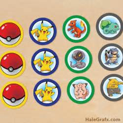free printable pokemon cupcake toppers