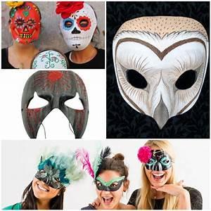 Gruselige Halloween Kostüme : gruselige masken als bastelidee zu halloween ~ Frokenaadalensverden.com Haus und Dekorationen
