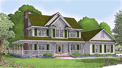 Victorian Style House Plans With Wrap Around Porches