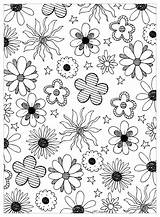 Coloring Flowers Flower Pages Adults Colouring Adult Simple Fleurs Mpc Printable Vegetation Flowered Children Frank Lisa Fallout Fruit Print Power sketch template