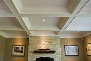 coffered ceiling lighting ideas | Integralbook.com