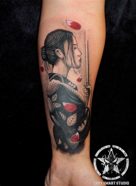 idees tatouage geisha plaisir  tradition en
