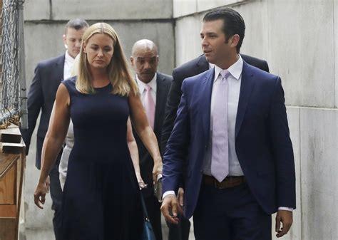 trump donald jr vanessa divorce debate esposa wife court press divorcian divorcio resuelven hijos custodia sus ap audiencia