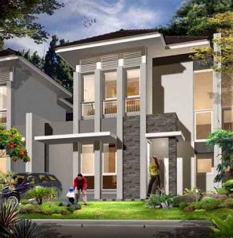 Rumah Villa Kayu Minimalis