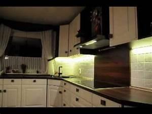 Led Strips Küche : led strip beleuchtung k che kitchen lighting led strip youtube ~ Buech-reservation.com Haus und Dekorationen