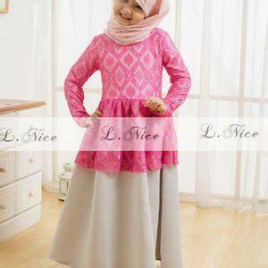 jual baju muslim gamis anak perempuan cewek impor branded