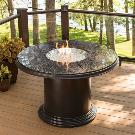Grand Colonial Dining Gas Fire Pit Table Gc48dink