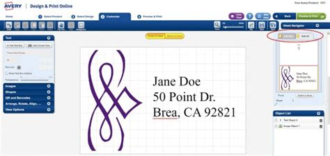 How Do I Print A Different Address On Each Label In Avery Business Ecosystem Images Card Mockup Size Requirements Networking Pictures Process Of Fashion Executive Evolution