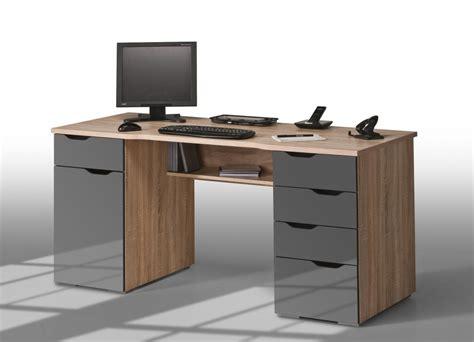 bureau avec rangement pas cher meuble pour ordinateur fixe