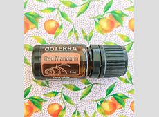 Red Mandarin Chemistry dōTERRA Essential Oils