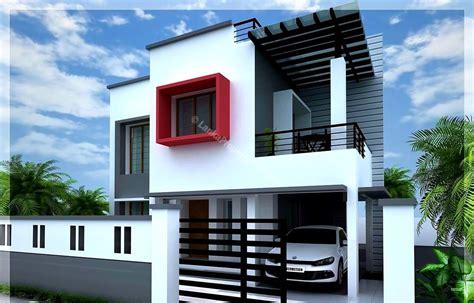 different house plans 2 different 3d home elevations architecture house plans 4