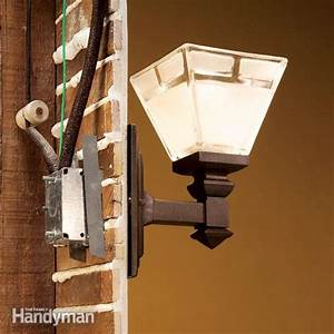 How to connect old wiring a new light fixture the